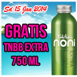 Gratis TNBB Extra 750ml sd 15 Jan 2014
