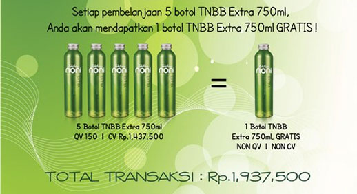 Surprise Promo Gratis TNBB Extra 750ml