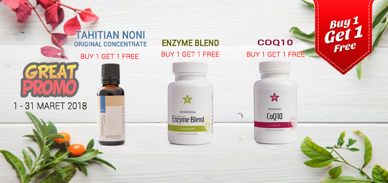 Tahitian Noni Original Concentrate Buy 1 Get 1 Free