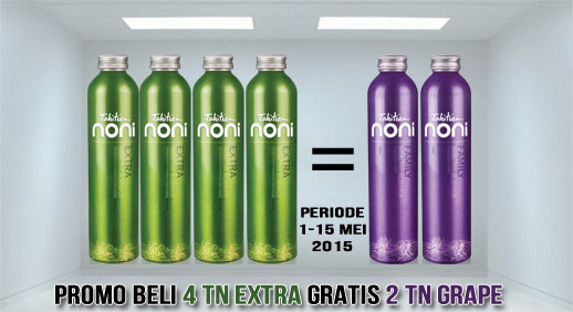 Promo Beli TNBB Extra GRATIS 2 Grape